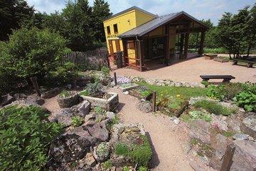 Photo du chalet d'accueil du Jardin du Chitelet