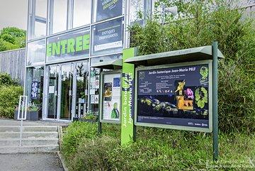Entrée du Jardin botanique Jean-Marie Pelt © P.-F. Valck